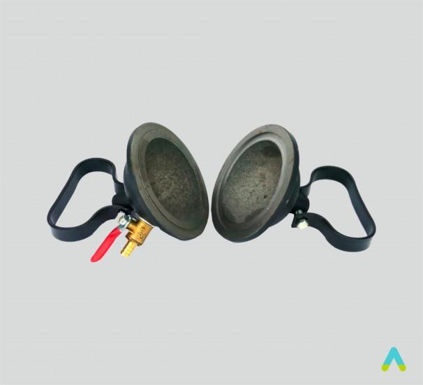 Прилад для демонстрації атмосферного тиску (Магдебурзькі півкулі) - фото