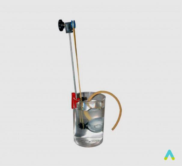 Прилад для демонстрації тиску в рідині