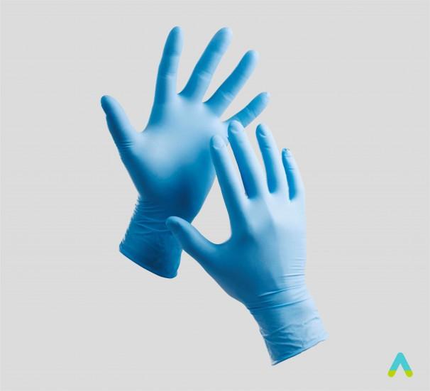 Латексні рукавички - фото