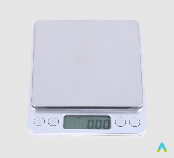 Цифрові ваги 1 кг/0.1г - фото
