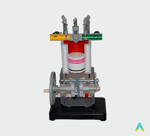 Модель дизельного двигуна - фото