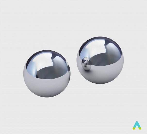 Набір кульок металевих - фото
