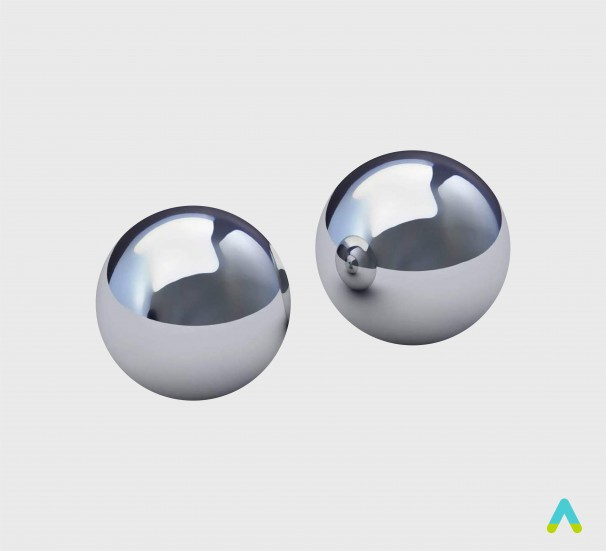 Набір кульок металевих