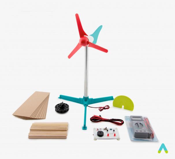 """Комплект для дослідження вітряної енергії """"Вітряна електростанція Vernier"""" - фото"""