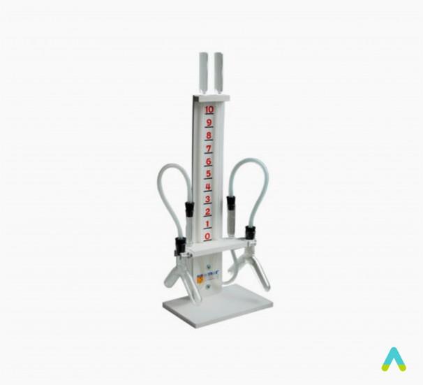 Прилад для ілюстрації залежності швидкості хімічних реакцій від умов - фото