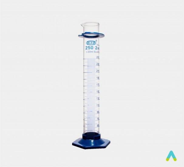 Циліндр вимірювальний з носиком, 250 мл