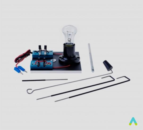 Прилад для дослідів по хімії з електричним струмом (ПХЕ) демонстраційний - фото