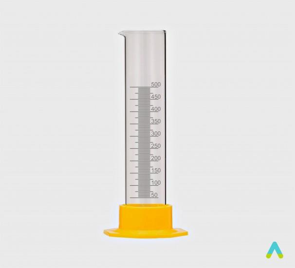 Циліндр вимірювальний з носиком, 500 мл - фото