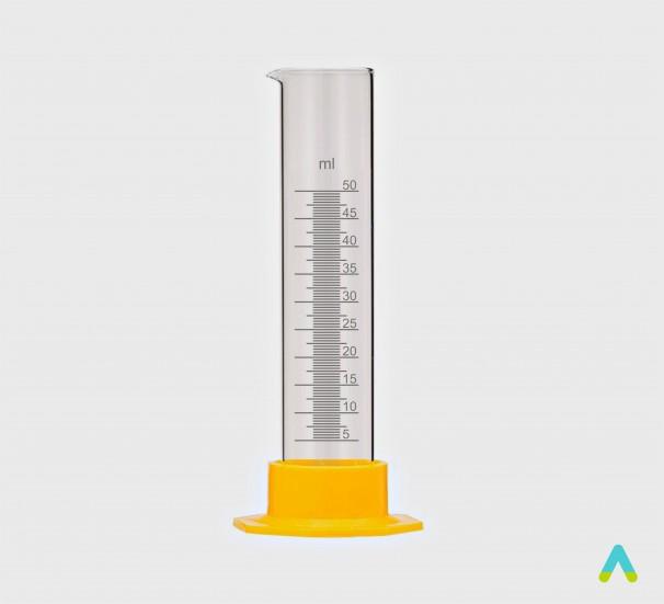 Циліндр вимірювальний 50 мл ПП - фото