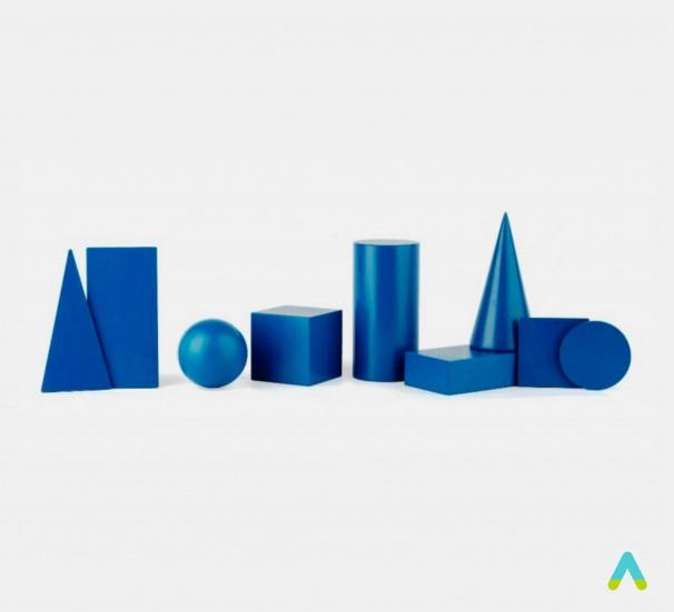Набір геометричних моделей - фото