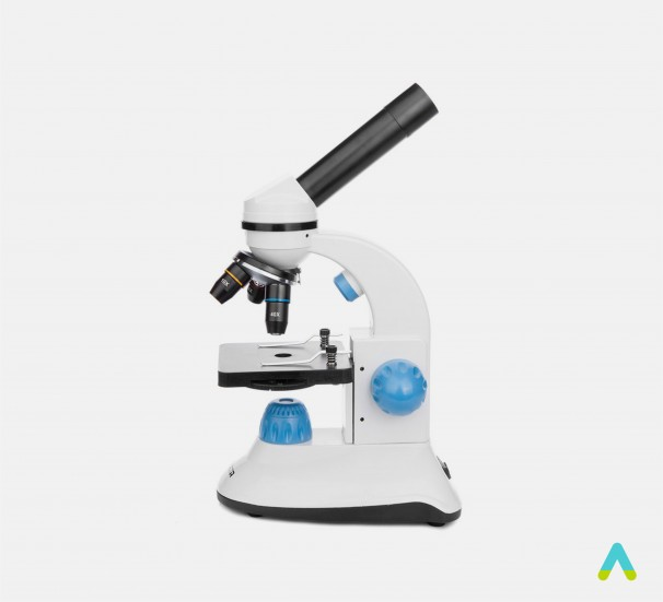 Мікроскоп шкільний класичний - фото