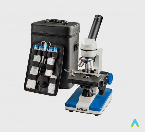 Мікроскоп монокулярний біологічний - фото