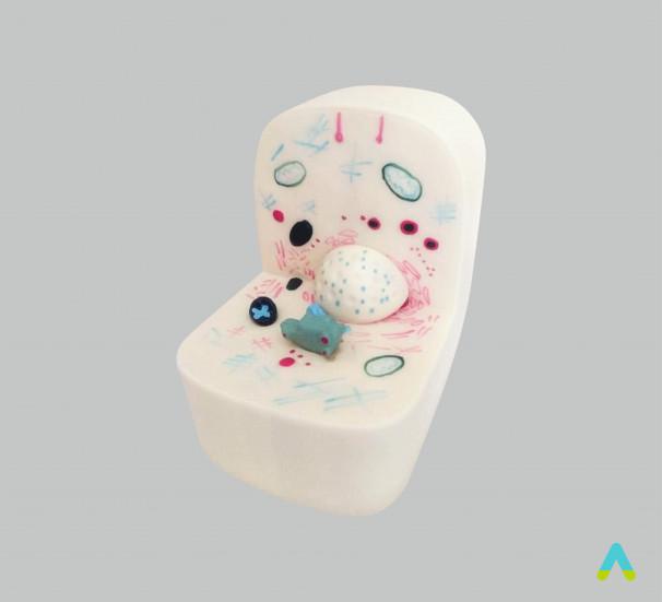 """Модель """"Мікроскопічна будова клітини"""" - фото"""