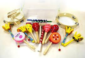 Набір музичних інструментів - фото